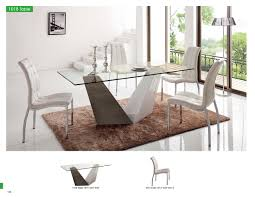 esf furniture esf 5 dining table and chairs set dining table