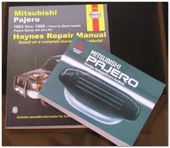 mitsubishi pajero haynes service u0026 re end 1 1 2015 7 15 pm