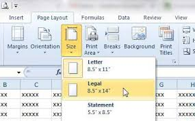 how to print on legal paper in excel 2010 solve your tech