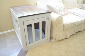 Plans To Make End Tables by Dog Crate End Table Plans