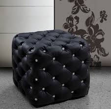 Black And White Chair And Ottoman Design Ideas Best 25 Black Leather Ottoman Ideas On Pinterest Modern