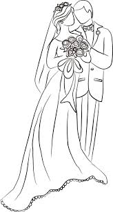 bride and groom coloring page 155 best weddings images on pinterest drawings digi stamps and