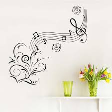 Flower Wall Decals For Nursery by Online Get Cheap Musical Wall Decals Baby Aliexpress Com