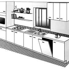 cuisine en i les différents types de plans de cuisine côté maison