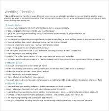 wedding planning list template wedding checklist template 20 free excel documents download