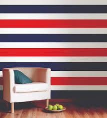 Flag Red White Blue Horizontal Stripes Creating A Striped Wall U2013 Poptalk