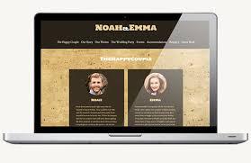 free wedding websites free wedding websites with offbeat templates
