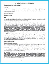 Driver Job Resume by Bus Driver Resume Free Resume Example And Writing Download