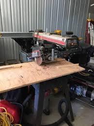 Craftsman Radial Arm Saw Table Craftsman Radial Arm Saw And A Craftsman Table Saw By Jason