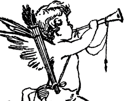 vintage cupid sketch the graphics fairy