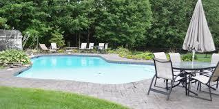 New England Backyards by Stone Edge Design New England Pool Builders
