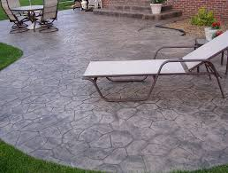 Cement Patio Designs Inspiring Patio Design Ideas With Sted Concrete Patio Design