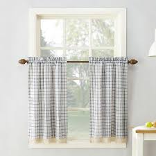 Horse Kitchen Curtains Buffalo Plaid Curtains Target