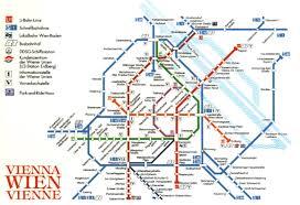 Vienna Metro Map by Vienna Subway Map My Blog