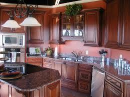 Mahogany Kitchen Designs Brown Mahogany Kitchen Cabinets Mahogany Wood Kitchen