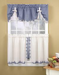 Kitchen Curtains Ideas Cobalt Blue Window Valance Modern Kitchen Curtain Ideas Country
