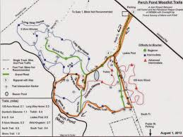 100 Acre Wood Map Hiking In Maine With Kelley 9 3 14 Perch Pond Trails
