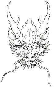 28 best dragon tattoo outline images on pinterest dragon tattoos