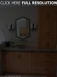 Bathroom Vanity With Linen Tower Bathroom Vanity Linen Tower Best Bathroom Decoration
