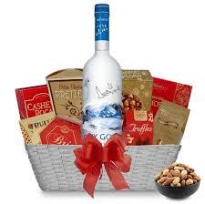 vodka gift baskets buy grey goose vodka gift basket