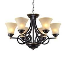 lnc traditional chandelier 6 light black antique pendant lighting wit