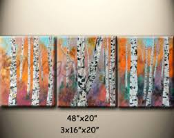 Home Decor On Sale Acrylic Abstract Paintingwall Artoriginalred