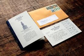 bank wedding invitation on behance