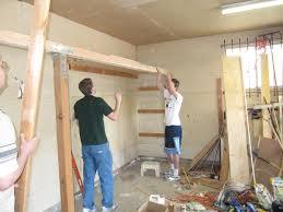 Garage Plans With Workshop Diy Overhead Garage Storage Plans How To Build Garden Shelves