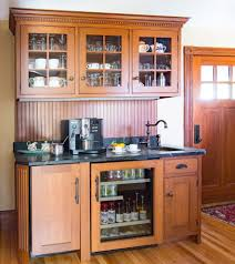 outstanding quartersawn oak kitchen farmhouse with stone