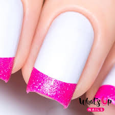 french tip nail guides for easy nail art