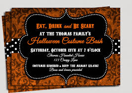 licious halloween party invitation wording byob features party