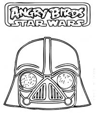 lego darth vader coloring pages angry birds star wars awesome