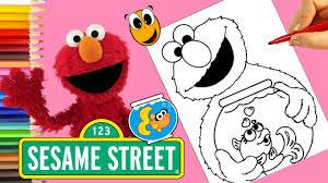 coloring elmo sesame street coloring book crayola markers elmo u0027s