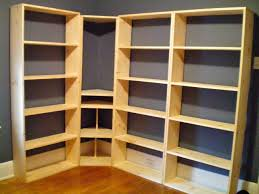 Build Corner Bookcase White Bookshelf Wall Unit Diy Projects