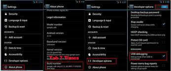 debugging android how to enable usb debugging on android for backuptrans connecting