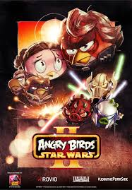 exclusive angry birds star wars 2 posters comic 1pm