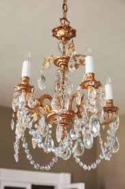Antique Chandeliers Ebay by Chandelier Polished Brass Crystal Chandelier Antique And Vintage