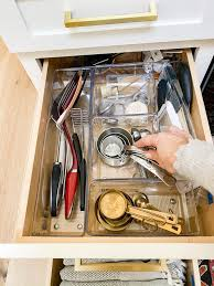 how to organize kitchen drawers diy how to organize kitchen drawers modern glam interiors