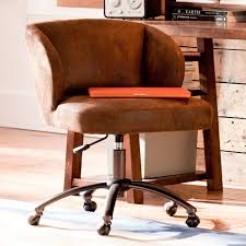 Tan Leather Office Chair Trailblazer Wingback Desk Chair Pbteen