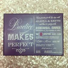 who to invite to rehearsal dinner etiquette rehearsal dinner invitation chalkboard practice makes perfect