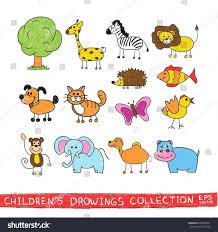 draw a cartoon monkey tutorials animals from the dollar sign easy