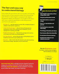 biology for dummies rene fester kratz donna rae siegfried