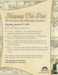 Jacksonville Map Dinner In The Maps Jacksonville Public Library Foundation