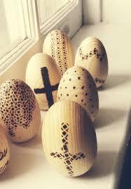 wooden easter eggs that open diy wood burned eggs for easter woodburning diy