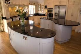 granite countertop cream kitchens with black worktops quick easy