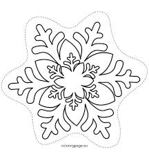 best 25 snowflakes template printable ideas on pinterest