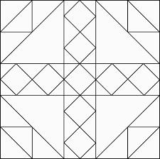 Geometric Block Pattern 84 Clipart Etc Quilt Block Coloring Pages