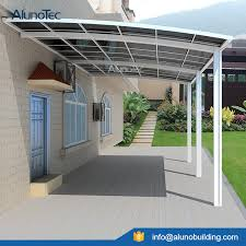 Metal Awning Kits Aluminum Carport Polycarbonate Roofing Buy Outdoor Carport
