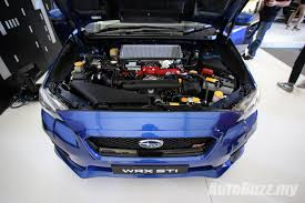 subaru galaxy blue new look subaru wrx u0026 wrx sti launched from rm238k video