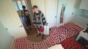 Challenge Water Filled Water Filled Cups Prank On Roommate